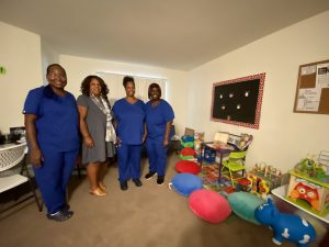 Members of the ASL Daycare family day home team pose together in Chesterfield, VA.