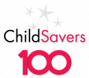 ChildSavers100 logo representing our 100-year anniversary of serving Richmond in 2024