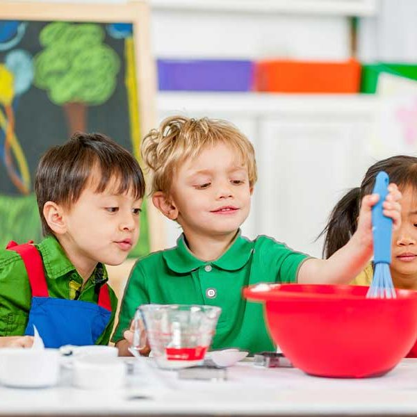 The Child and Adult Care Food Program (CACFP) Reimburses child care providers for healthy meals served.